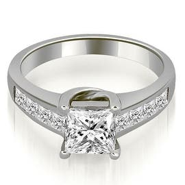 1.00 cttw. 14K White Gold Channel Princess Cut Diamond Engagement Ring|https://ak1.ostkcdn.com/images/products/is/images/direct/eb7d6f6b49c2bd232e6dd2303f7093f697b86f8d/1.00-cttw.-14K-White-Gold-Channel-Princess-Cut-Diamond-Engagement-Ring.jpg?impolicy=medium