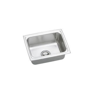 """Elkay PFR2519 Gourmet Pacemaker Stainless Steel 25"""" x 19-1/2"""" Single Basin Kitchen Sink with 7-1/4"""" Depth"""