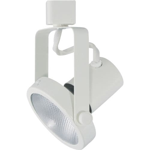 Cal Lighting Lt 241 1 Light Adjule Track Head With Gimbal Ring For Series Systems