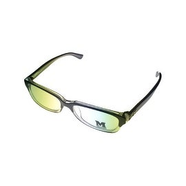 Missoni Opthalmic Unisex Eyeglass Modifed Rectangle Black Clear Plastic MM 012 6