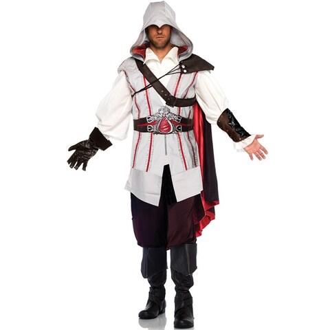 Leg Avenue Assassin's Creed Ezio Adult Costume - white/red