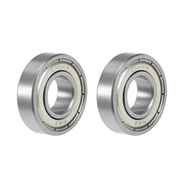 "R8ZZ Deep Groove Ball Bearing 1/2""x1-1/8""x5/16"" Shielded Bearings 2pcs - 2 Pack - R8ZZ (1/2""x1-1/8""x5/16"")"
