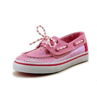 Sperry Top Sider Bahama Jr Moc Toe Canvas Boat Shoe