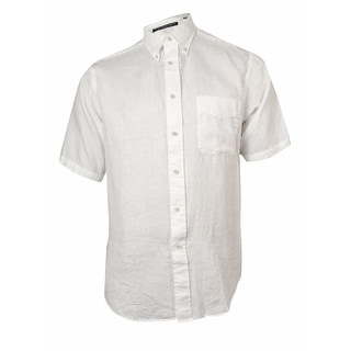 Link to Roundtree & Yorke Men's Classic Pin-Check Linen Shirt Similar Items in Shirts