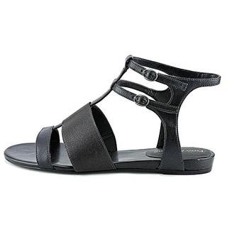 Enzo Angiolini Womens Nyri Gladiator Sandals Faux Leather Flat