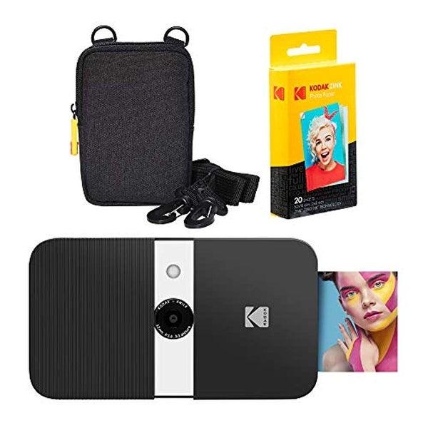 KODAK Smile Instant Print Digital Camera (Black/ White) Soft Case Kit. Opens flyout.