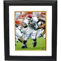 Tommie Harris signed Oklahoma Sooners Lombardi 03 8x10 Photo Custom Framed