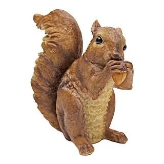 Design Toscano Scamper and Chomper, the Woodland Squirrel Statues: Chomper