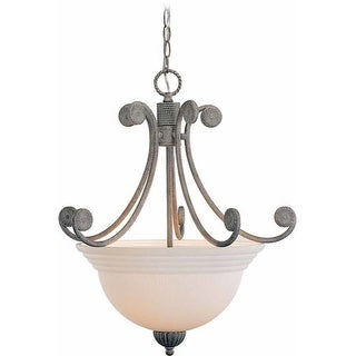 Volume Lighting V7663 Kyoto 3 Light 1 Tier Chandelier