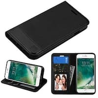 Insten Leather Cover Case with Stand/ Wallet Flap Pouch/ Photo Display For Apple iPhone 7