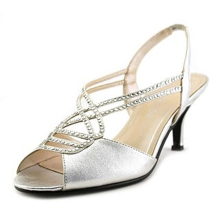 Caparros Philomena Open-Toe Synthetic Slingback Heel