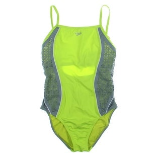 Speedo Womens Endurance Lite Contemporary Fit One-Piece Swimsuit - 8