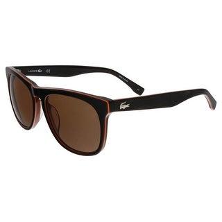 Lacoste L818/S 210 Brown Wayfarer sunglasses Sunglasses