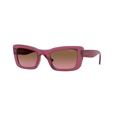 Vogue VO5311S 279814 49 Transparent Cherry Woman Pillow Sunglasses