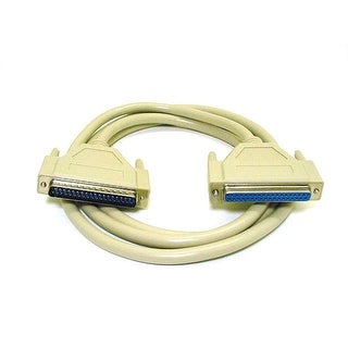 Monoprice 10ft Molded DB37 Male/Female Cable