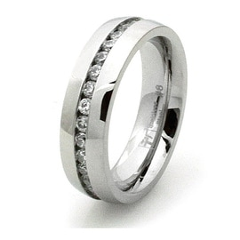 Stainless Steel Eternity Ring
