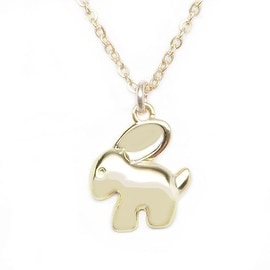 Julieta Jewelry Bunny Charm Necklace