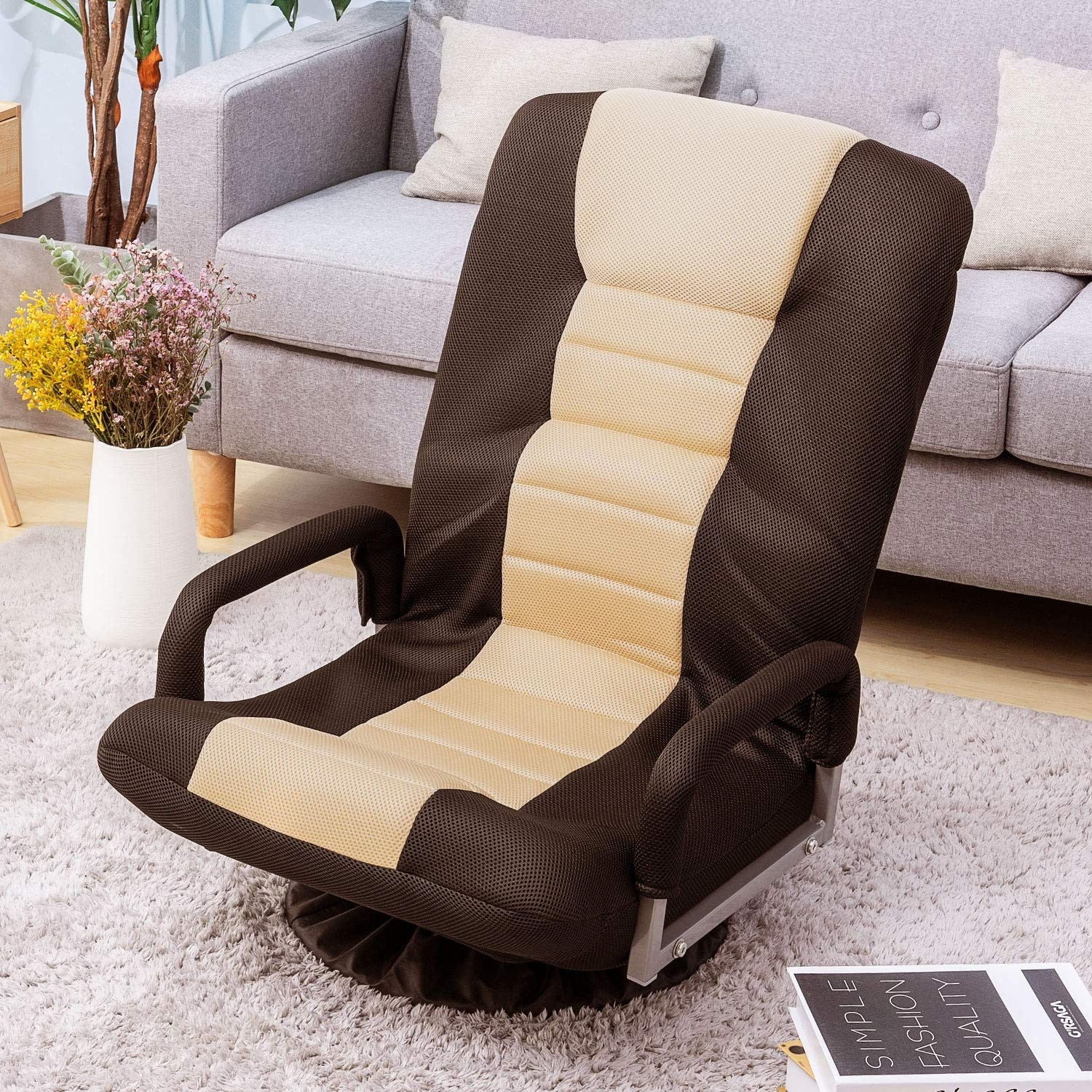 Shop For Swivel Video Rocker Gaming Chair Adjustable 7 Position Floor Chair Folding Sofa Lounger Get Free Shipping On Everything At Overstock Your Online Furniture Outlet Store Get 5 In Rewards With Club O 32338368