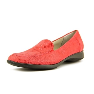 Trotters Jenn W Square Toe Leather Loafer
