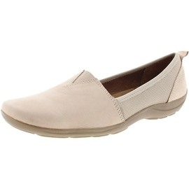 Natural Soul Womens Frank Leather Square Toe Casual Shoes - 7 medium (b,m)
