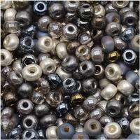 Czech Seed Beads 8/0 Heavy Metals Mix (1 Ounce)