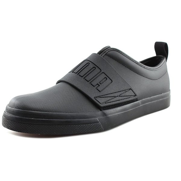 Puma EL Rey Fun Men Round Toe Leather Black Sneakers
