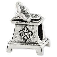 Sterling Silver Reflections Phonograph Bead