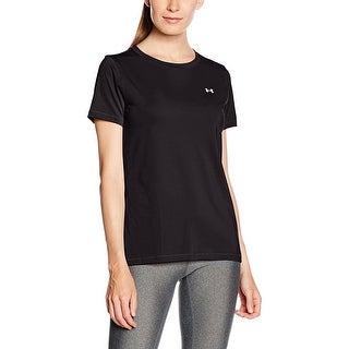 Womens Under Armour 1285637 HeatGear Short Sleeve Crew Neck Shirt