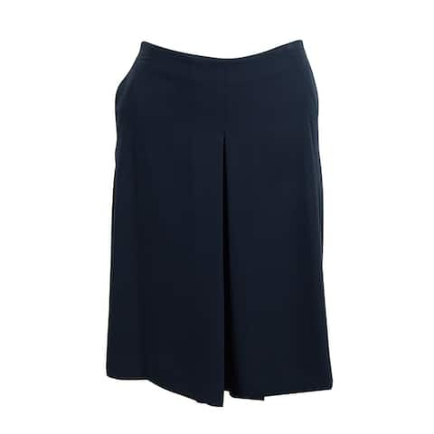 Lauren Ralph Lauren Women's Pleated Crepe Culottes