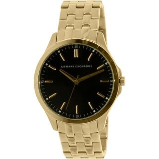 Armani Exchange Men's Smart AX2145 Gold Stainless-Steel Quartz Dress Watch|https://ak1.ostkcdn.com/images/products/is/images/direct/eb8fe135c919ee5e361b03f980a3907efe9cb153/Armani-Exchange-Men%27s-Smart-AX2145-Gold-Stainless-Steel-Quartz-Dress-Watch.jpg?impolicy=medium