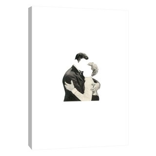 "PTM Images 9-105955  PTM Canvas Collection 10"" x 8"" - ""Blind Embrace"" Giclee Men and Women Art Print on Canvas"
