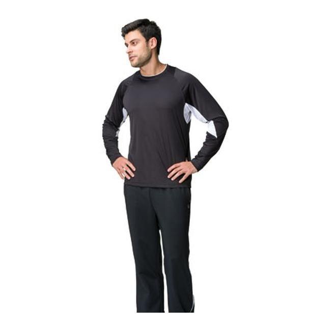 a55b1f56 Fila Men's Core Long Sleeve Top Black/White