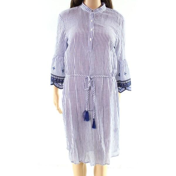 Lauren by Ralph Lauren Women's Stripe Shift Dress