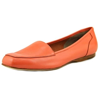ARRAY Womens Freedom Leather Square Toe Loafers (Option: Coral - 7 - Narrow)