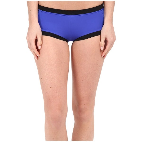 99ccd41e75 Shop Seafolly Blue Womens Size US 12 AU 16 Colorblock Swim Boy Shorts - On  Sale - Free Shipping On Orders Over $45 - Overstock - 28163583