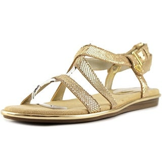 Anne Klein Garlyn Open Toe Leather Sandals
