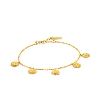 "Deus Bracelet - Shiny Gold - 7.3"""