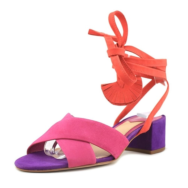 Brian Atwood Astor Pnk Mlt Sandals