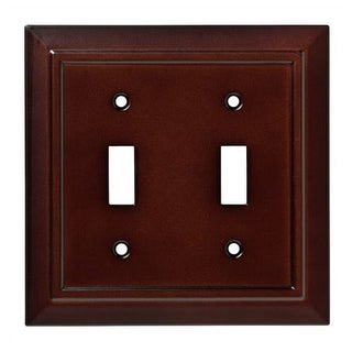 Franklin Brass W35244-C Classic Architecture Double Toggle Switch Wall Plate