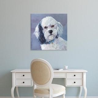 Easy Art Prints Edie Fagan's 'Woofie Cockapoo' Premium Canvas Art
