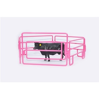 Little Buster Toy Heavy Duty Metal Walk Through Gate Pink 500222