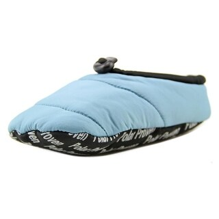 Baffin Cush Toddler Round Toe Canvas Blue Slipper