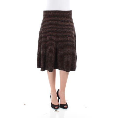 353422b6cb9836 Brown Skirts | Find Great Women's Clothing Deals Shopping at Overstock