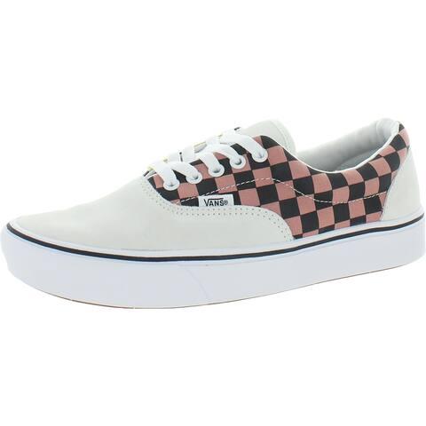 Vans Womens Comfycush Era Fashion Sneakers Fitness Lifestyle - White/Multi