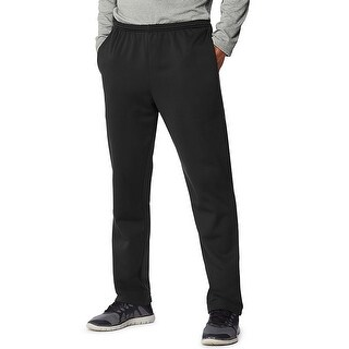 Hanes Sport Men's Performance Sweatpants With Pockets - Color - Black - Size - 2XL