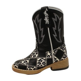 Blazin Roxx Western Boots Girls Kids Miley Patchwork Child 44476