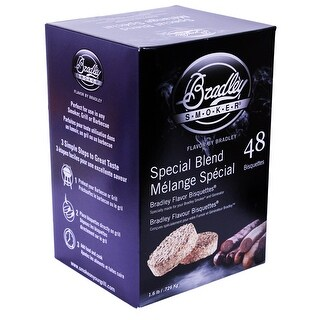 Bradley Smoker Btsb48 Special Blend Bisquettes Pack Of 48