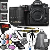 Nikon D850 DSLR Camera (Body Only) 1585 International Model + Nikon AF-S DX NIKKOR 18-105mm f/3.5-5.6G ED VR Lens Bundle