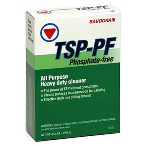 Savogran 10612 TSP-PF Heavy Duty Phosphate Free Cleaner, 4.5 Lb