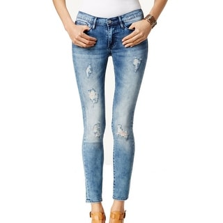 Buffalo David Bitton NEW Blue Women's Size 28X29 Slim Skinny Jeans